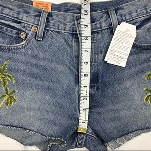 Levi's Shorts - NWT Levi's 501 Wild Dreaming Re/Done Shorts Sz 29